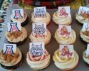 Cheer on your favorite team with cookies from Kaity Kakes.