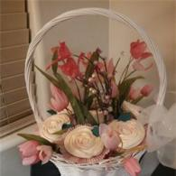 Who wouldn't enjoy a basket of cupcakes hand delivered to their home or office?
